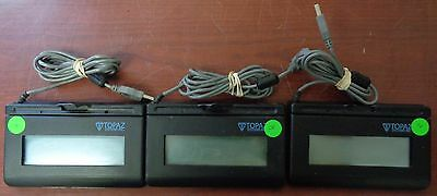 Lot of 3 Topaz T-LBK460SE-H190-R Electromagnetic Signature Capture Pads USB