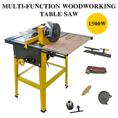 Multifunction Table Saw Table Saw with Underframe Miter Saw Circular Saw