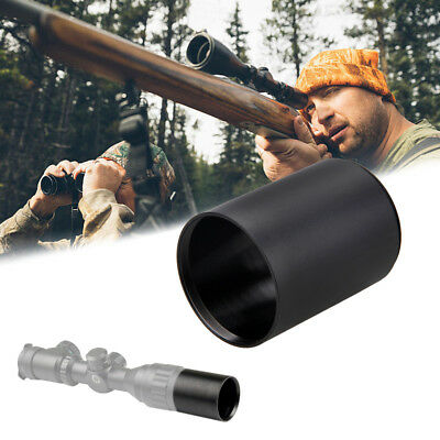 Hunting Sun Shade for Riflescope Aluminum Alloy Sunshade Scope w/ 50mm Lens New