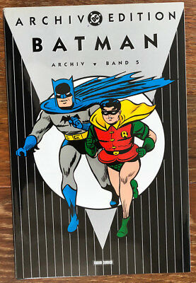 Batman, Archiv Edition Band V/ 5 # 12  (Panini DC ) Hardcover