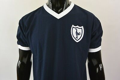 ad65be31c90 Score Draw Tottenham Hotspur SPURS Away Shirt 1962 Retro Football Shirts  SIZE L