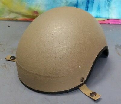 U.S. Military Issue DH-132Combat Vehicle Crewman mediem Helmet Shell gentex L1