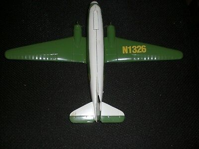 John Deere Limited Edition Dc-3 Company Airplane Bank; Spec-Cast; 1994