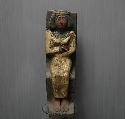 ANCIENT ANTIQUE Egyptian stone queen Nefertiti (1370-1330 BC