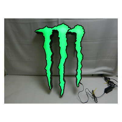 Fortune Resources Monster Energy Drink Logo Neon Sign