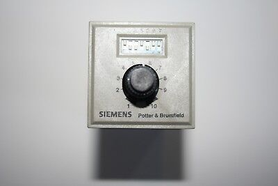 Potter & Brumfield Cns-35-92 240 V 0.1 Sec-100 Min Programmable Time Delay Relay