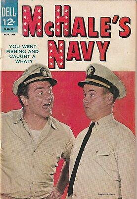 Mchales Navy  Number 3. Dell Comics .tv Related. 1964.