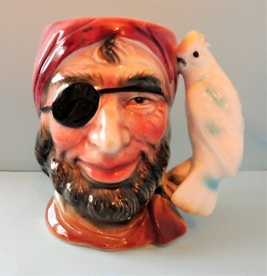 Vintage Pirate Toby Jug