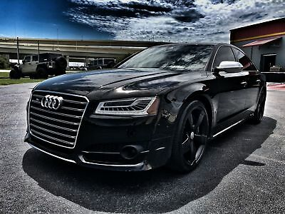 "Audi S8 VERMONT COPPER TWILL 8*CARBON TWILL COPPER*COLD WEATHER PKG*DRIVER ASSIST*21""s*1 OWNER*WE FINANCE*FL"