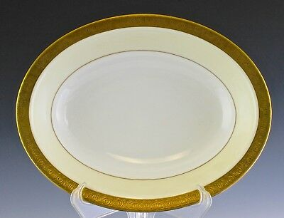 Very Fine Minton Buckingham Pattern Large Open Oval Serving Bowl