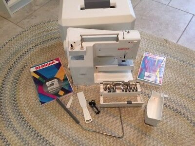 Bernina 1630 Computerized Sewing Machine, + Case, Manual (+DVD), presser feet