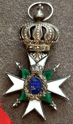 A Saxe-Weimar Order of the White Falcon; Knight X Second Class