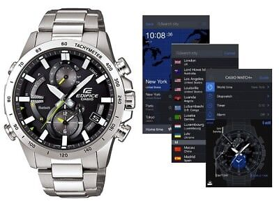 Details about CASIO EDIFICE EQB 900D 1A Mobile Link Solar Original Package Ready to Ship @