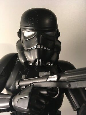 Sideshow 1/6 scale black hole storm trooper with box