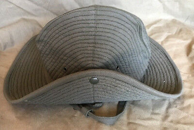 French Army Olive Green Chapeau de Brousse Bush Hat Size 7 1/2 (60)