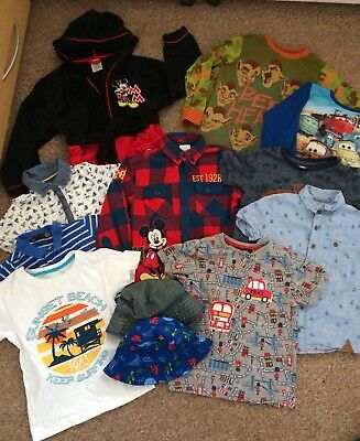Boys Clothes Bundle 5-6/ 6 Years. Mickey Mouse. Disney Store. Lion Guard. Summer