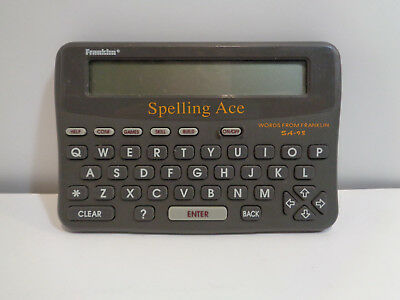 Franklin Spelling Ace SA-98 English Spell Checker