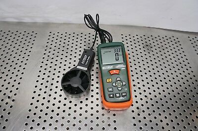 Extech AN200 CFM/CMM Thermo-Anemometer with InfraRed Thermometer 80 to 5900 fpm