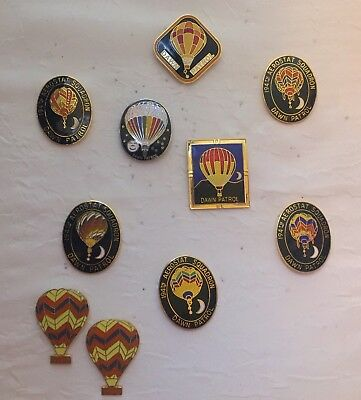 Vintage Hot Air Balloon Pins Dawn Patrol Lot