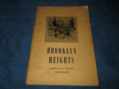 Brooklyn Heights-New York-Yesterday Today Tomorrow-Langstaff-1937 Booklet