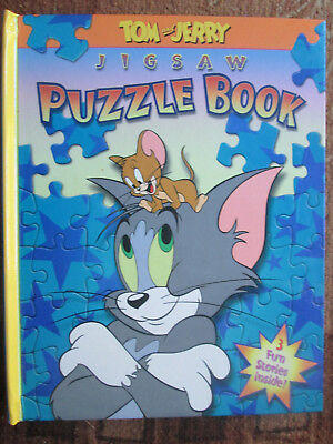 TOM AND JERRY JIGSAW PUZZLE BOOK (3 FUN STORIES INSIDE!) By Inc. Turner