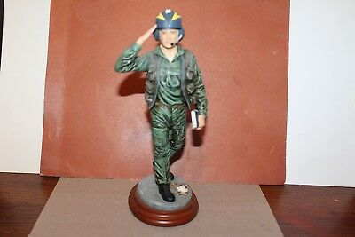 """Vanmark American Heroes """"closest Air Support"""" Military Figurine"""