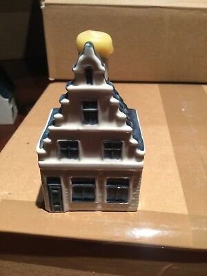Bols KLM Delft Canal House #73 Mini Liquor Bottle Dutch Royal Distillery