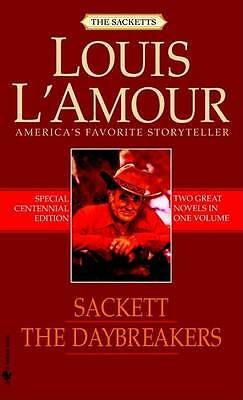 The Daybreakers: AND Sackett by Louis L'Amour (Paperback, 2008)
