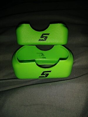 2 New Snap-On Green Battery Boot Covers For 14.4 Volt Lithium Batteries CTB8172
