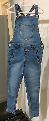 Girl's Gorgeous Overall Denim Jumpsuit - Size 3 (Cotton On)