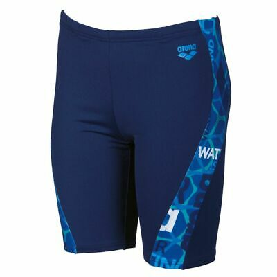 2518a9156f1b8 Arena Boys Evolution Jr Jammer Navy-Pix Blue, Boys Swimmers, Arena Swimwear