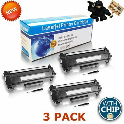 3x TN760 With Chip New Toner TN730 Compatible For Brother HL-L2350DW DCPL2550DW