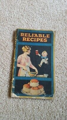 Calumet Baking Powder Reliable Recipes Book 21st Edition 1920s Kewpie & Dog
