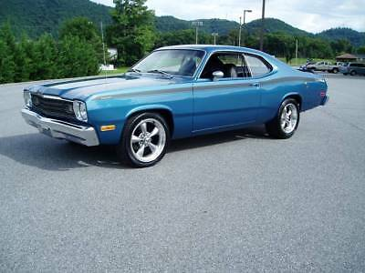 1974 Plymouth Duster 2-Door Coupe 1974 PLYMOUTH DUSTER .. 1 BAD MOPAR .. OVER 50 PICTURES BELOW ..