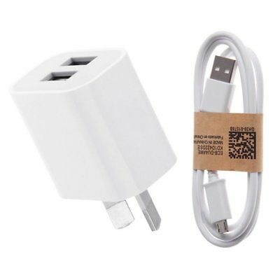 Universal Travel 5V 2A Single/Dual Home Charger Power Adapter AU Plug Wall Phone