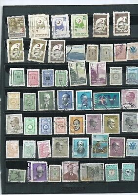Turkey 1957-1969. Selection Of 52. Very Fine Used  As Per Scan