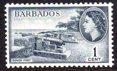 1953-61 BARBADOS 1c Dover Port SG289 mint very light hinged