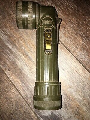WW2 WWII US Army Flashlight TL-122D