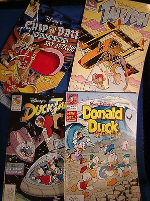 1991 DISNEY Chip 'n' Dale Rescue Rangers, Talespin, DuckTales & Donald Adventure