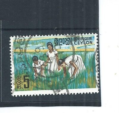 Ceylon 1969. Rice Cultivation.  Fine Used . As Per Scan