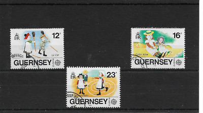 GUERNSEY 1989 Europa - Toys set - SG 451/53 - used
