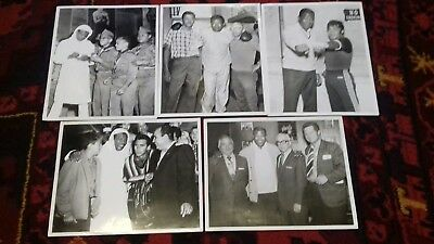Sugar Ray Robinson 5 Original  Photographs