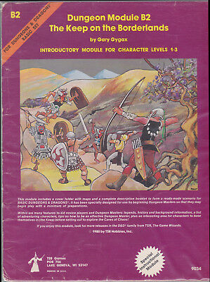 Dungeons & Dragons (1st Ed.): The Keep on the Borderlands (B2)
