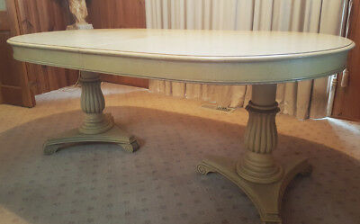 French Provincial - Dining setting - Table & Chairs!