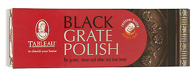 Tableau Black Grate Polish also for Wood Burning Stoves & Cast Iron 100ml Tube