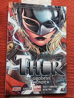 Marvel Now Comics Thor Goddess Of Thunder HC Graphic Novel  2015 Hardback mighty