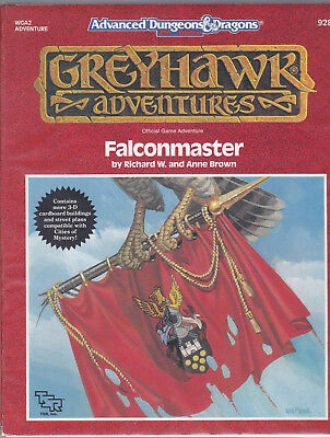 Advanced Dungeons & Dragons (2nd): Greyhawk Adventures - Falconmaster (WGA2)