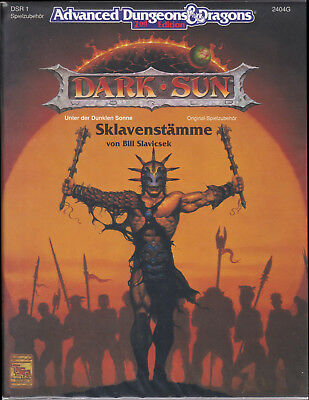 Advanced Dungeons & Dragons (2nd Ed.): Dark Sun - Sklavenstämme (DSR1)
