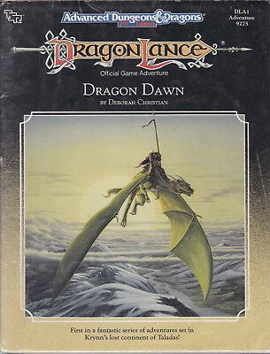 Advanced Dungeons & Dragons (2nd Ed.): DragonLance - Dragon Dawn (DLA1)