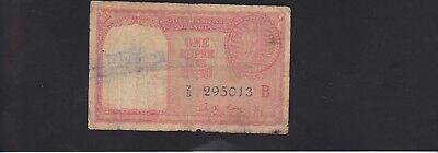 India Arab Gulf Issue 1 Rupee P.r1 In Vg Condition